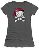 Juniors: Betty Boop-Pirate T-shirts
