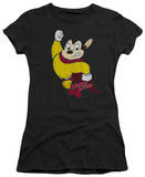 Juniors: Mighty Mouse-Classic Hero T-shirts