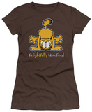 Juniors: Garfield-Delightfully Unrefined T-shirts