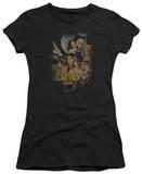 Juniors: Battle Star Gallactica-Distressed Poster Shirt