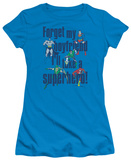 Juniors: DC-Forget My Boyfriend T-Shirt