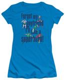 Juniors: DC-Forget My Boyfriend T-Shirt