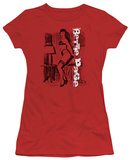 Juniors: Bettie Page-Shake It T-Shirt