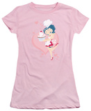 Juniors: Betty Boop-Cupcake T-Shirt