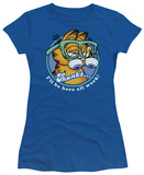 Juniors: Garfield-Performing T-shirts