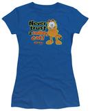 Juniors: Garfield-Smiling T-Shirt