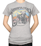Juniors: Grateful Dead Bear on Motorcycle T-Shirt