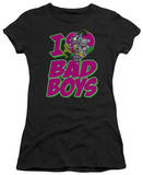 Juniors: DC-I Heart Bad Boys T-shirts