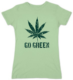 Women's: Go Green (Slim Fit) Shirts