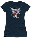 Juniors: Betty Boop-Mushroom Fairy T-shirts