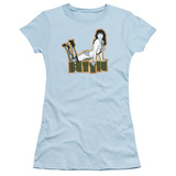 Juniors: Bettie Page-Lounging T-Shirt