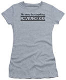 Juniors: Law & Order-Story T-Shirt