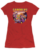 Juniors: Garfield-Pet Force Four T-shirts