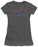 Juniors: Happy Days - Distressed T-shirts