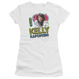 Juniors: Saved By The Bell-I Love Kelly T-Shirt