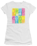 Juniors: 90210-Color Block Of Friends Shirts