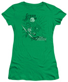Juniors: DC-The Emerald Archer T-shirts