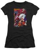 Juniors: Speed Racer-Manga Cover Downhill T-shirts