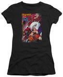 Juniors: Speed Racer-Manga Cover Downhill T-Shirt