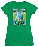 Juniors: Green Lantern-184 Cover T-shirts