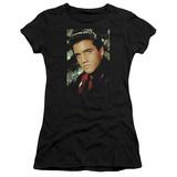 Juniors: Elvis - Red Scarf T-Shirt