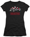 Juniors: Battle Star Gallactica-Old School Cylons T-Shirt
