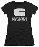Juniors: Caprica-Graystone Industries Shirt