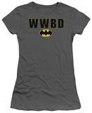 Juniors: Batman-WWBD Logo Shirts