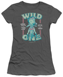 Juniors: Betty Boop-Wild One T-shirts