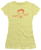 Juniors: Betty Boop-Classy Chick T-shirts