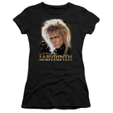 Juniors: Labyrinth-Jareth T-Shirt
