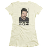 Juniors: Parks & Recreation-Woman Of The Year T-shirts