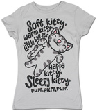 Juniors: Big Bang Theory - Soft Kitty Camisetas