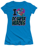 Juniors: DC-I Heart DC Camisetas