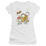 Juniors: Garfield-Friends Are Best T-shirts