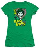 Juniors: DC-I Heart Bad Boys 2 T-Shirt