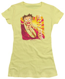Juniors: Betty Boop-Sunset Surf Shirt