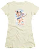Juniors: Betty Boop-All Ashore T-Shirts