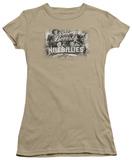 Juniors: Beverly Hillbillies-Logo T-Shirt