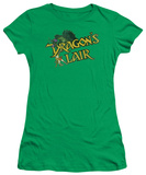 Juniors: Dragon's Lair-Slay The Dragon T-shirts