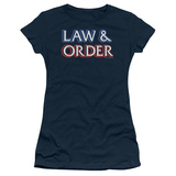 Juniors: Law & Order-Logo T-shirts