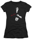 Juniors: Bruce Lee-The Dragon Awaits T-Shirt