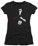 Juniors: Bruce Lee-The Dragon Awaits Shirts