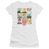Juniors: I Love Lucy-So Many Faces T-Shirt
