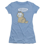 Juniors: Garfield-Smiling Cat T-Shirt