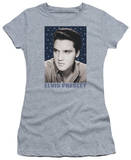 Juniors: Elvis-Blue Sparkle T-shirts