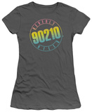 Juniors: 90210-Color Blend Logo T-Shirts