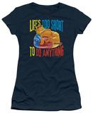 Juniors: Garfield-Too Short Shirts