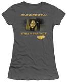 Juniors: Mirror Mask-Missing Princess T-shirts