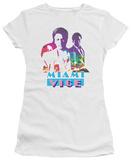 Juniors: Miami Vice-Crockett And Tubbs T-shirts